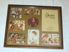 Vintage Intercraft Collage The Collection Photo Wall Wood Frame
