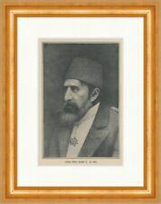 Sultan Abdul Hamid II Gegenrevolution Türkei Osmanisches Reich Druck ED 496