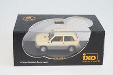 GG 1:43 IXO CLC068 FIAT PANDA 34 CREAM MINT BOXED