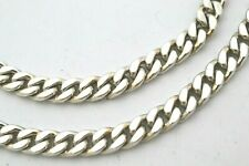 """925 Sterling Silver Curb Chain Necklace. 68 grams, 41 cm / 16"""""""