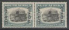 SOUTH AFRICA SGO50 1953 5/= BLACK & PALE BLUE-GREEN MTD MINT
