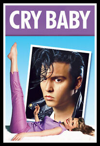 Cry-Baby Movie Poster Print & Unframed Canvas Prints