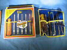 Vintage VACO Klein Interchangeable Screwdriver Kit No. 90050 NEW in Box USA Tool