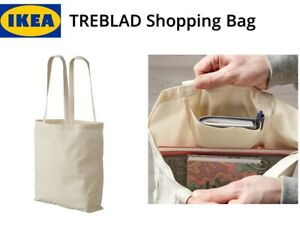 IKEA TREBLAD Shopping Bag Unbleached