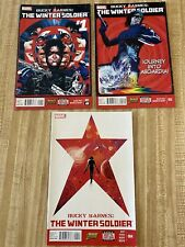 Bucky Barnes: The Winter Soldier #1 - #2, #4 by Ales Kot Marco Rudy (2014)