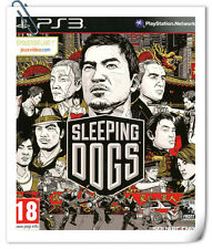 PS3 SLEEPING DOGS SONY PlayStation Square Enix Action Games
