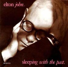 ELTON JOHN - Sleeping With The Past (CD 1989) USA Import EXC 10 Tracks