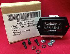 Hour Meter HOBBS Honeywell 85094 85000 Panel Quartz Analog Timer 12-60 VDC kit