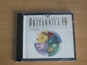 Encyclopaedia Britannica 98 PC CD Rom for Windows Multimedia Edition 2 CD Set