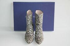 $575 NEW Stuart Weitzman ATOM WEST Leopard Booties  Size:  10 / 40