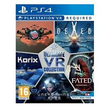 Ultimate VR Collection PS4 VR Game Stationary Turrets On Beach Heads Fated