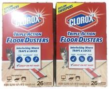 Clorox Triple Action Floor Dusters, 26 Cloths- NEW DVD--- LOT OF 7