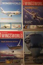 Herpa Wings 4x Wingsworld Neu ungelesen plus Herpa Wings Neuheitenprospekte
