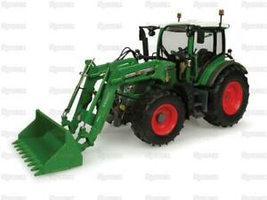 Tractor 1/32 Scale UNIVERSAL HOBBIES Fendt 516 Vario, with front loader