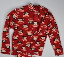Paul Frank Julius Monkey Red Pajama Top Lounge Shirt Size S