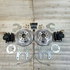 "Ford 8 & 9"" Rear Axle Disc Brake Conversion Kit F-Series Mustang Torino Fairlane"