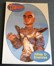 THUNDERBIRDS ALLIES AND ENEMIES F14 - THE HOOD - Cards Inc. ** Foil Chase Card