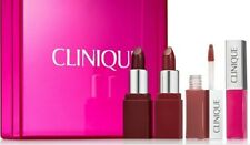 Clinique 4 pcs Pop Sampler Lip Colour Gift Set Brand New in Box Free Shipping