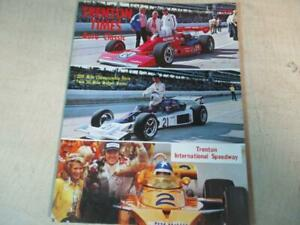 TRENTON INTL SPEEDWAY 1976 200 MILE AUTO RACE PROGRAM Al Unser