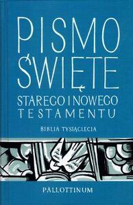Polish Bible, Polska Biblia Tysiaclecia Pallotinum Pismo Swiete 12 x 18 cm