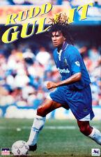 Vintage Original RUUD GULLIT 1995 Chelsea Blues FC EPL Football Soccer POSTER