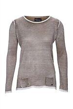 Feine Damen-Pullover aus Kaschmir ohne Verschluss