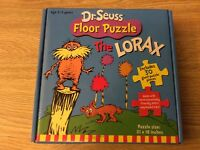 Dr. Seuss The Lorax Giant Floor Puzzle 30 Giant Puzzle Pieces 21 x 18 inches