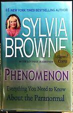 Phenomenon by Sylvia Browne 1st/1st HCDJ **SIGNED** COA by Flatsigned Press