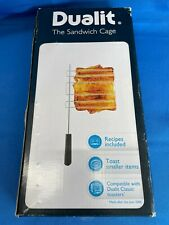 More details for dualit the sandwich cage - dualit classic toaster compatible - new boxed