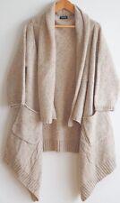 Sale!!!!!  JOURNAL STANDARD Japan Wool Silk Long SWEATER CARDIGAN Size Small