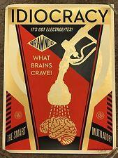 Shepard Fairey Obey Idiocracy Movie Art Print Poster Mondo Luke Wilson Banksy