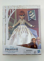 Disney FROZEN 2 Arendelle Anna Doll Hasbro 11 in high- Age 3+ - BRAND NEW BOX