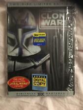 Star Wars The Clone Wars DVD Best Buy Exclusive Steelbook Rare