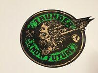 """Thunder Trucks, Skateboard Sticker, Original Factory, Green Chrome, 2.5"""""""