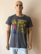 New Junk Food THE POLICE T-SHIRT Size L