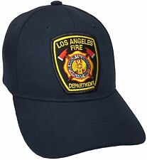los angeles fire department Hat Color Navy Blue  Adjustable New Hat