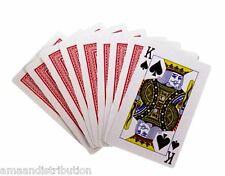 2 FULL DECKS PROFESSIONAL PLASTIC COATED PLAYING CARDS FUN XMAS GIFT