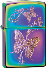 Zippo Butterfly Spectrum Windproof Lighter 28442 New