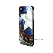 Marvel Legendary Armor Captain America IPhone 4/4S COQUE GSM NEW