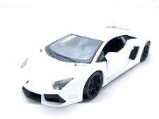 Maisto Lamborghini Aventador LP700-4 Bianco Nuovo 1/24 Pressofusione Automobile