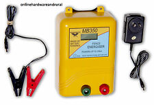 Thunderbird MB350 35km Mains and Battery Powered Electric Fence Energiser