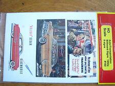 Jl Innovative Design Ho #192 Auto/Transportation Billboard 1950s (6 Paper Signs)
