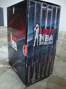 COFANETTO 6 DOPPI 12 DVD I LOVE NBA 2010/2011  NEW