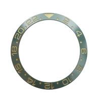 38mm Green GMT Ceramics Sub Diver Watch Bezel Insert For 40-42mm Men's Watch