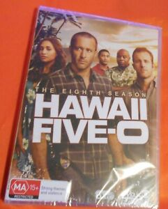 Hawaii 5-O : Season 8 (DVD, 2018, 6-Disc Set) Brand new