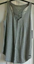 New Hollister wms/teens sleeveless top Grey  S