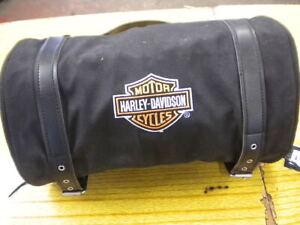 HARLEY DAVIDSON GENUINE ROLL UP TRAVEL PACK 8 POCKET STORAGE BAG 99550-07NRP