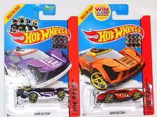 2014 HOT WHEELS RLC FACTORY SET RACE SUPER BLITZEN X2 BOTH COLORS