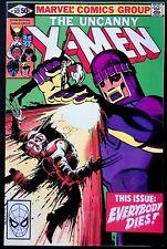Marvel Comics! Uncanny X-Men #142! Everybody Dies! Near Mint- 9.2!