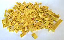 LEGO Yellow Bricks Mixed Bulk Lot 100+ Pieces GOOD VARIETY Parts Plates Tiles